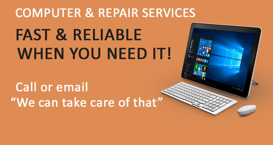 Fast Reliable Computer Repair when you need it!