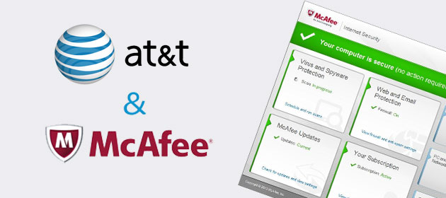 McAfee Internet Security Suite from AT&T