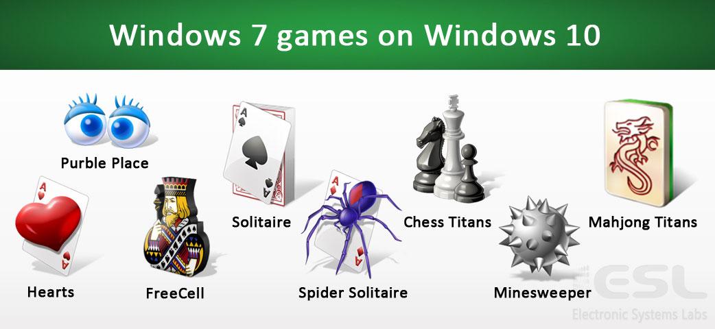 Windows 7 games on Windows 10 - ESL Newsletters