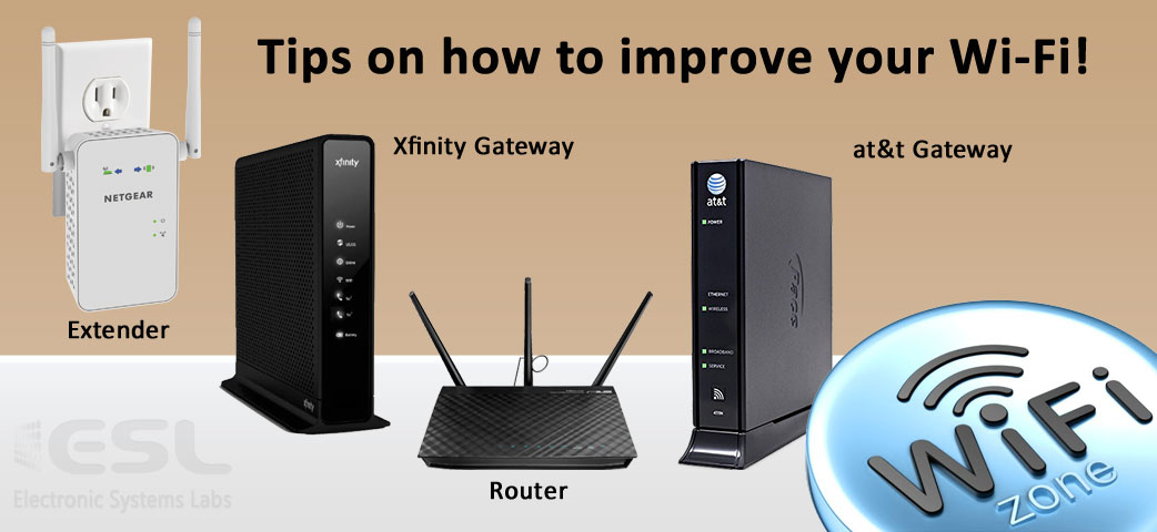 Tips on how to improve your Wi-Fi! - ESL Newsletters